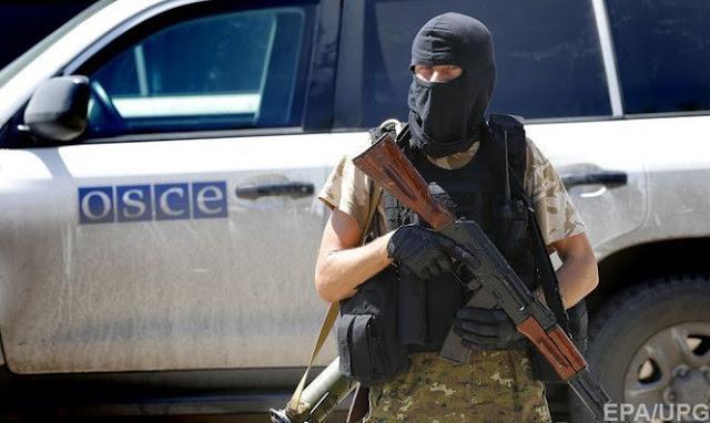 Проросійські бойовики погрожували затримати патруль ОБСЄ на Донбасі