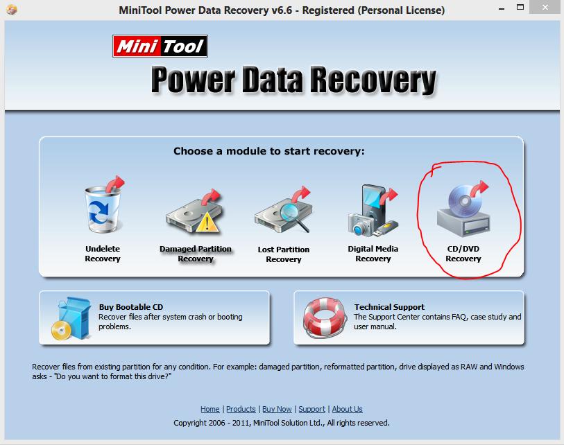 Cara Recoveri Data dari  CD/VCD yang Rusak