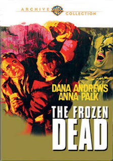 DVD & Blu-ray Release Report, Ralph Tribbey, The Frozen Dead