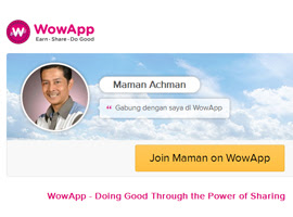 Join Maman on WowApp