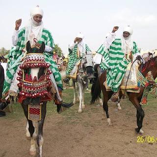 tradisi lebaran nigeria