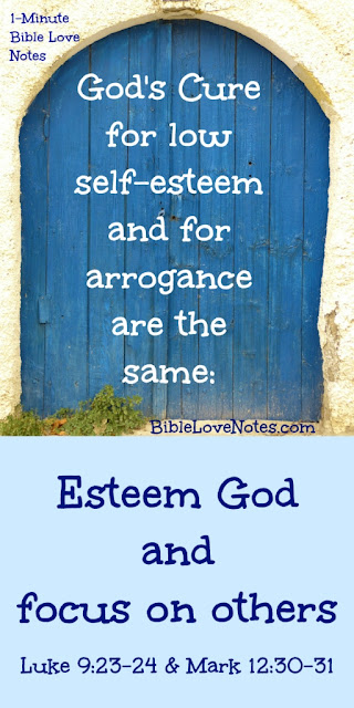 Low Self-Esteem and Inflated Self-Esteem Have the Same Biblical Cure