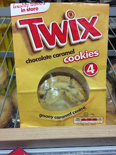 twix chocolate caramel cookies