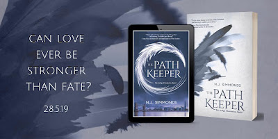 THE PATH KEEPER ~ two covers #bookcover #coverlove - ebook/paperback and the special edition hardback ~ N J Simmonds' Debut Author Spotlight #NewBook #20Questions at Operation Awesome
