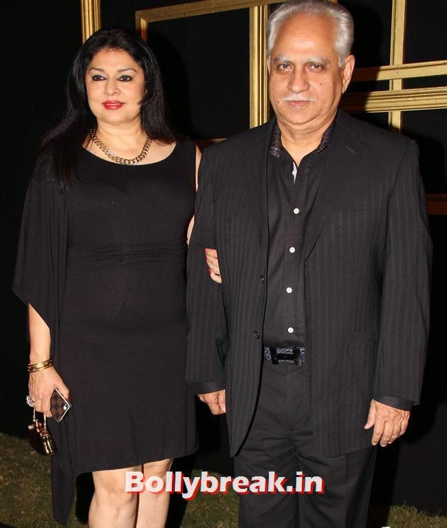 Kiran Juneja and Ramesh Sippy, All Bollywood Celebs at Deepika Padukone Golden Party