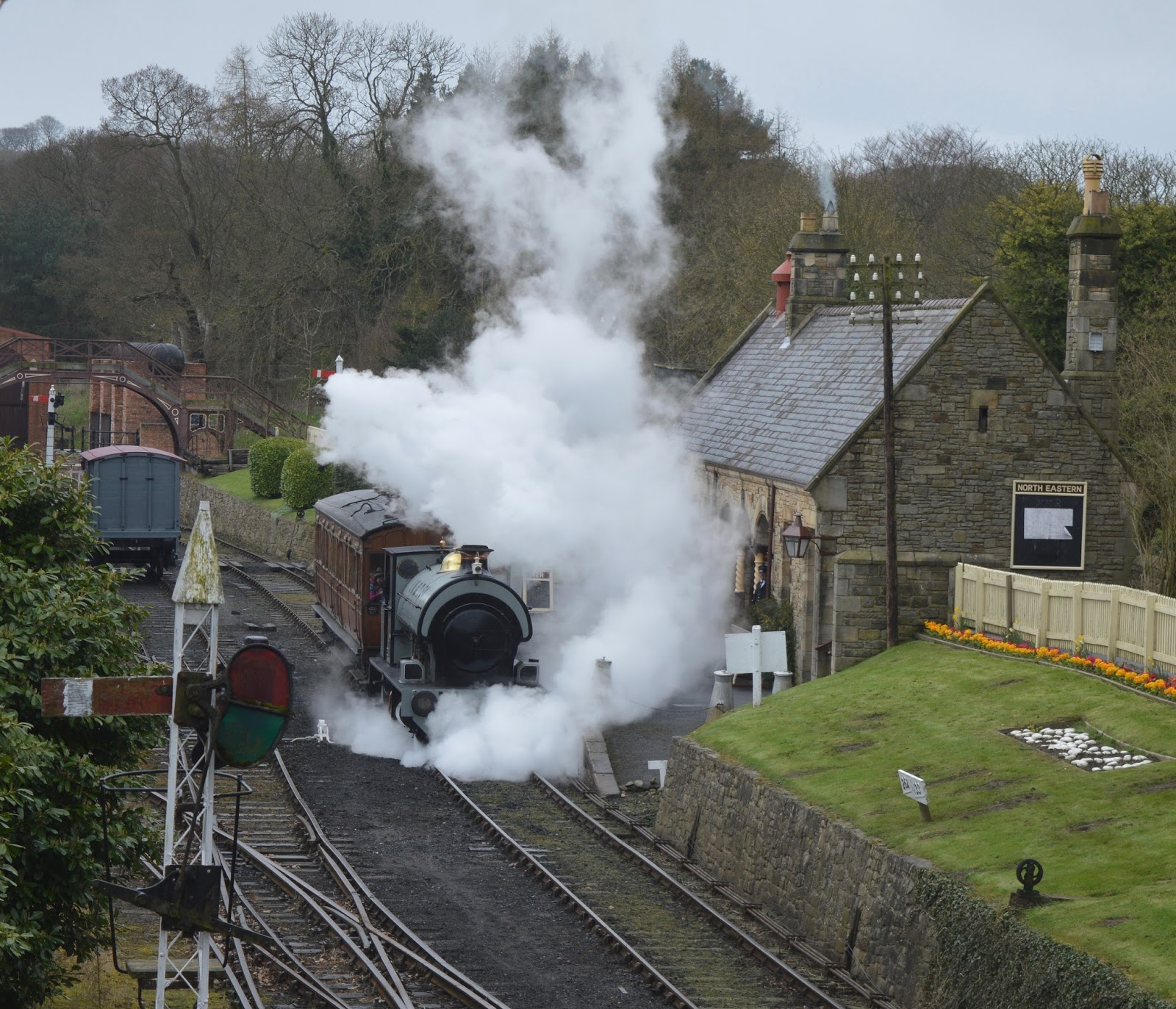A Guide to The Best Family Days Out in the North East including Beamish Steam Train