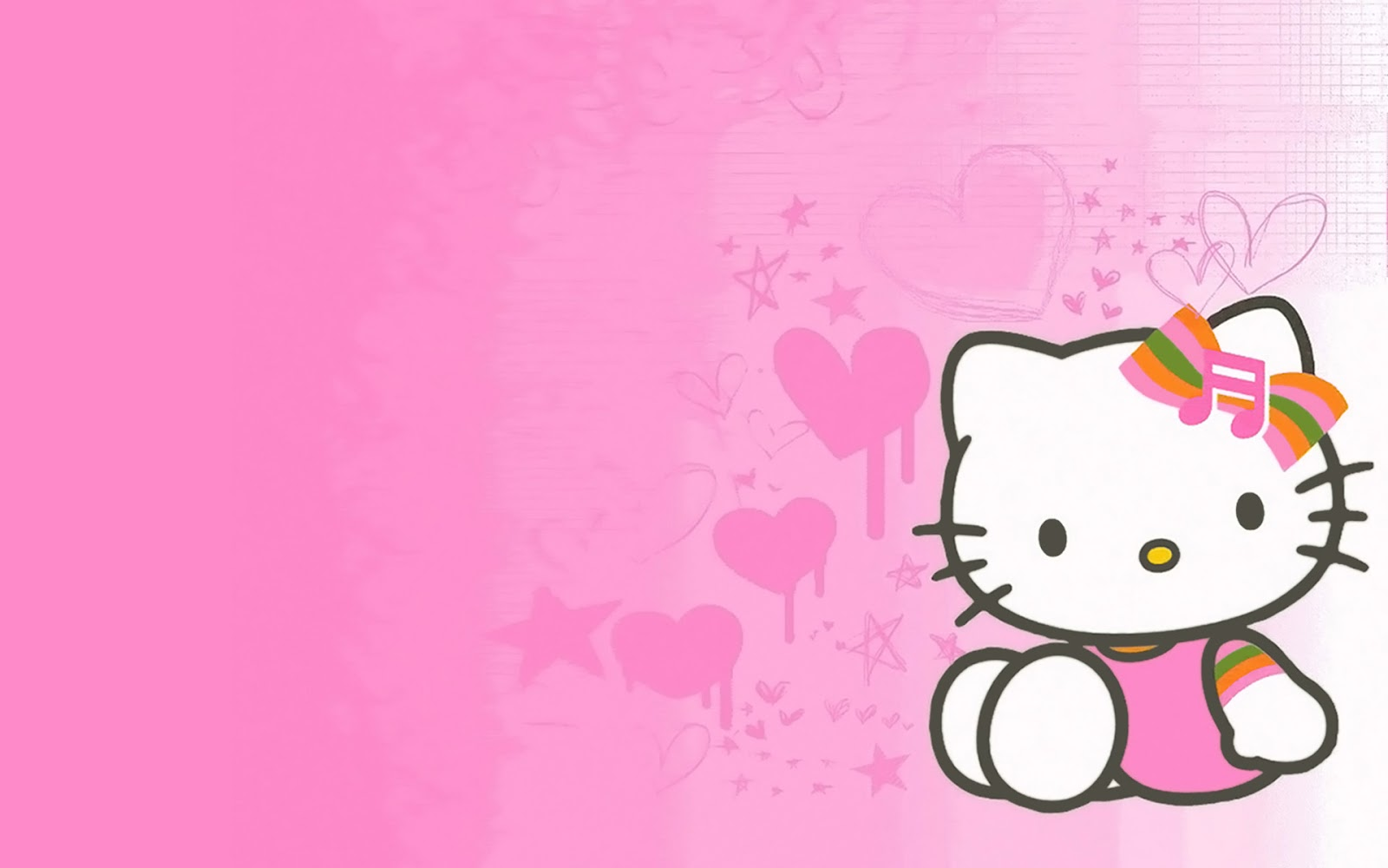 Gambar Hello Kitty Lengkap