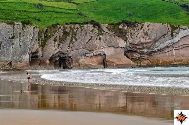 Zumaia, spiaggia di Itzurun