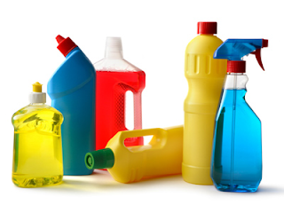 Caution / Warning / Danger - what's in your cleaning products?