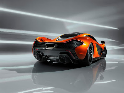 McLaren P1: Inspired by UFOs