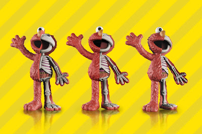 Sesame Street Elmo XXRAY Plus Vinyl Figure by Jason Freeny x Mighty Jaxx