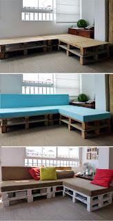 Crea tu Sofa de Esquina con Palets