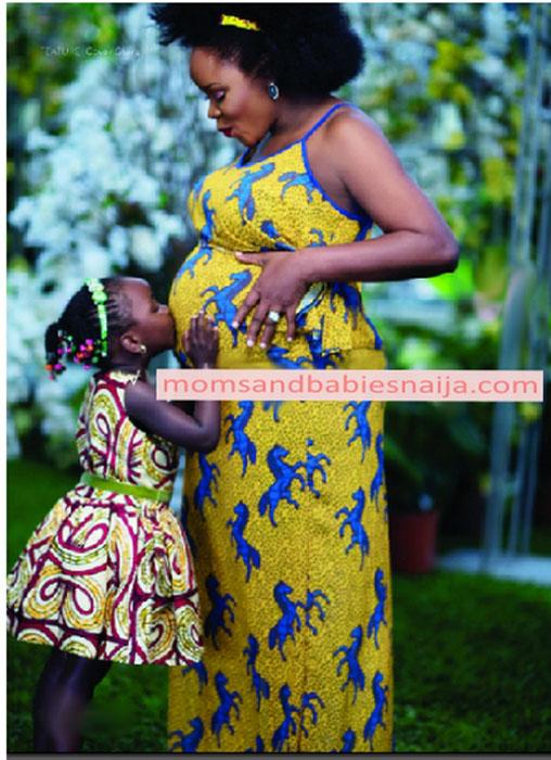 Ankara-Maternity-Dresses