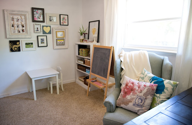 Domestic Fashionista: Multifunctional Office and Playroom