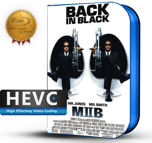 Men in Black 2  (2002) 1080P HEVC-8Bits BDRip Latino/Ingles (Subt.Esp)(Comedia)