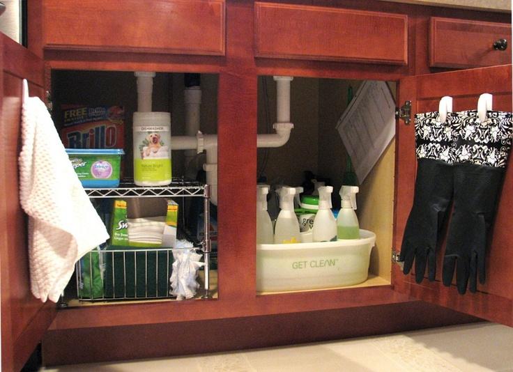 Wararies Susun Atur 1 Kabinet Bawah Sinki Dapur