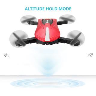 Drone-Eachine-E52-Wifi-HD-Cámara FPV-control-altura