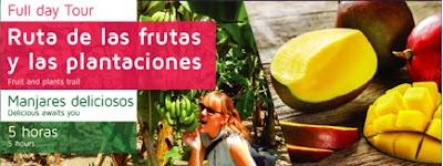RUTA DE LAS FRUTAS Y PLANTACIONES