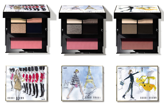 bobbi brown collection maquillage automne 2016 25 anniversaire palette paris londres new york