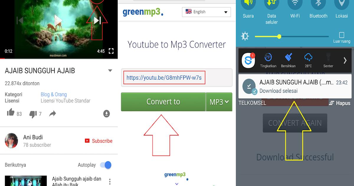 Cara Download Mp3 Dari Youtube Di Android Tanpa Aplikasi Mastimon Com