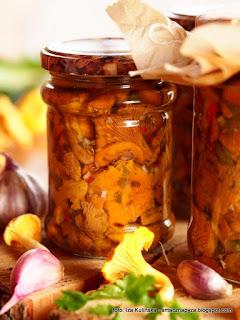 kurki po wlosku, grzyby na zime, grzybki w sloikach, kureczki w oliwie