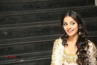 Telugu Actress Mahima Makwana Stills in White Desginer Dress at Venkatapuram Movie Logo Launch  0265.JPG
