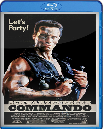 Commando [1985] [BD25] [Latino]