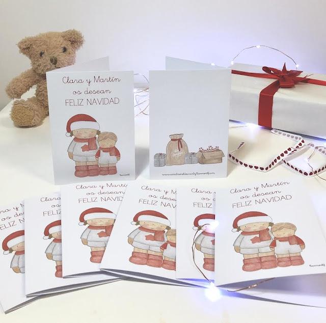 Postales-navidad-personalizadas-Clara Martín