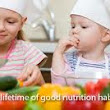 Important tips for proper nutrition for the child ~ Healthy diets