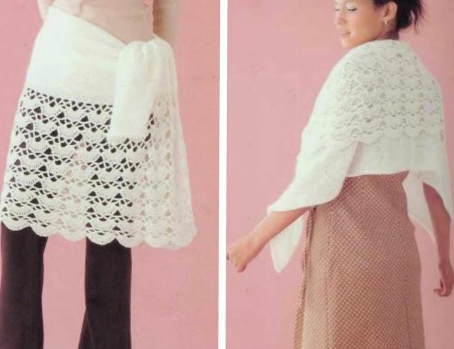 Chal o Falda de crochet, y por que no las 2