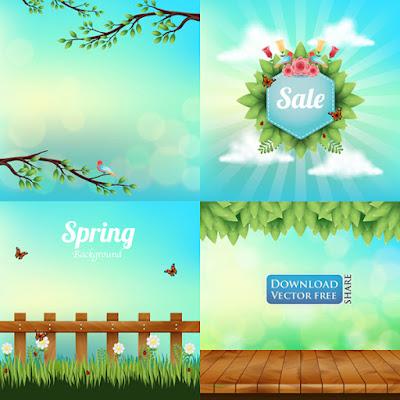 4-nen-do-hoa-khung-canh-mua-xuan-spring-background-vector-6294