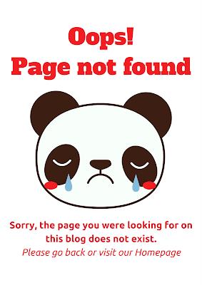 emoji error page