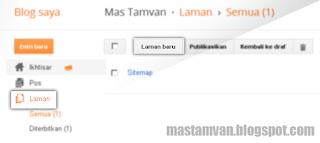 laman pada blogger