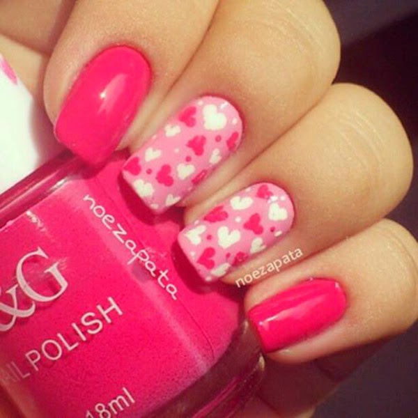 10 Romantic And Lovely Nail Art Design For Your Love