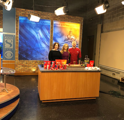 TV Segment with KCCI Channel 8 Des Moines, Iowa with Sola Sweet, Alyx Sacks and Chef Ryan Turner