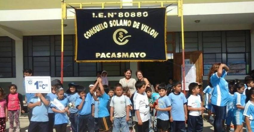 Mejorarán 10 colegios a través de obras por impuestos en GRE La Libertad