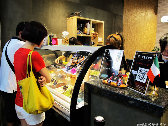 IMG 6520 - 【逢甲美食】夏妃 Sanza Fine 手工冰淇淋 加上 特製雞蛋仔 蹦出新滋味 !!! @雞蛋仔冰 @義大利手工冰淇淋 @手工冰淇淋