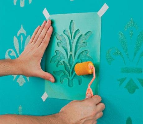 Diy c mo pintar paredes con efectos for Pintar paredes con efectos