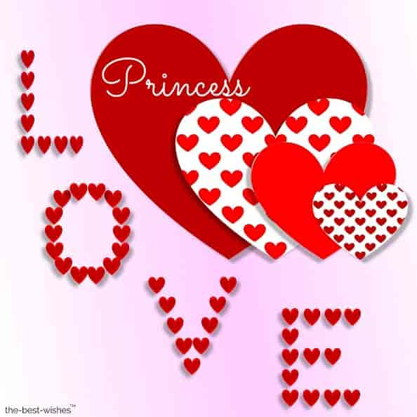 good morning princess love