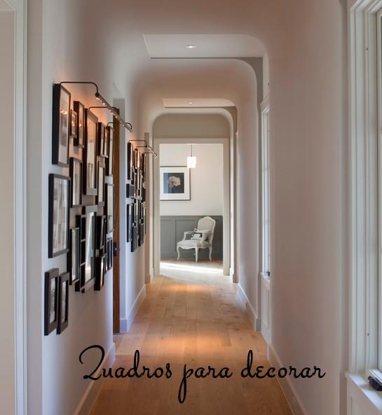 Design de interiores ideias para decorar o corredor - Decorar pared fotos ...