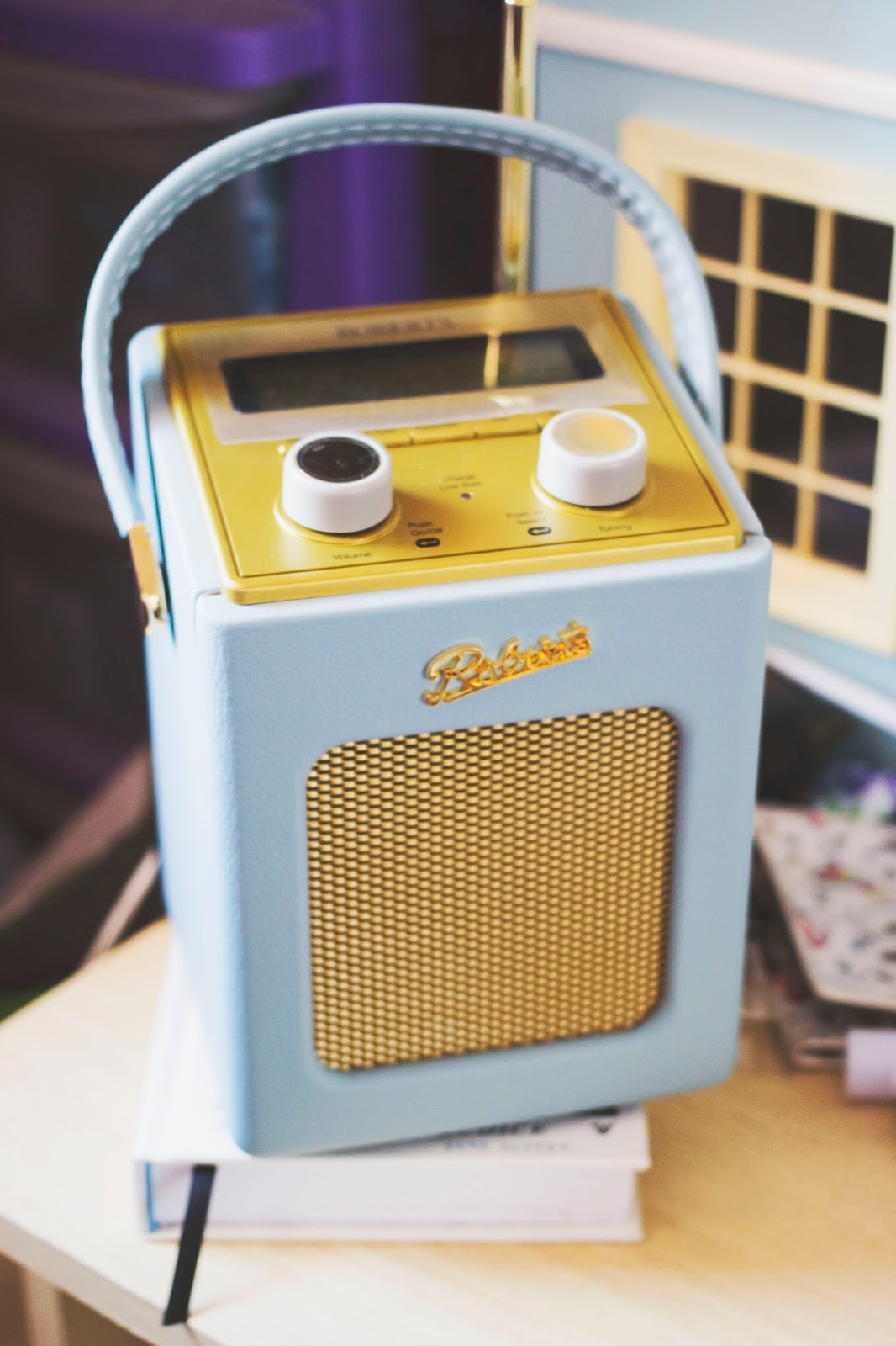 Roberts Revival Mini Radio, Roberts Radio, Pretty Radio, Katie Writes,