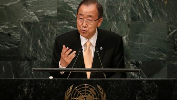Ban Ki-moon: Las potencias tienen sangre en sus manos