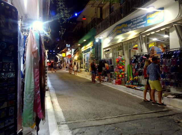 Shopping street Vasiliki