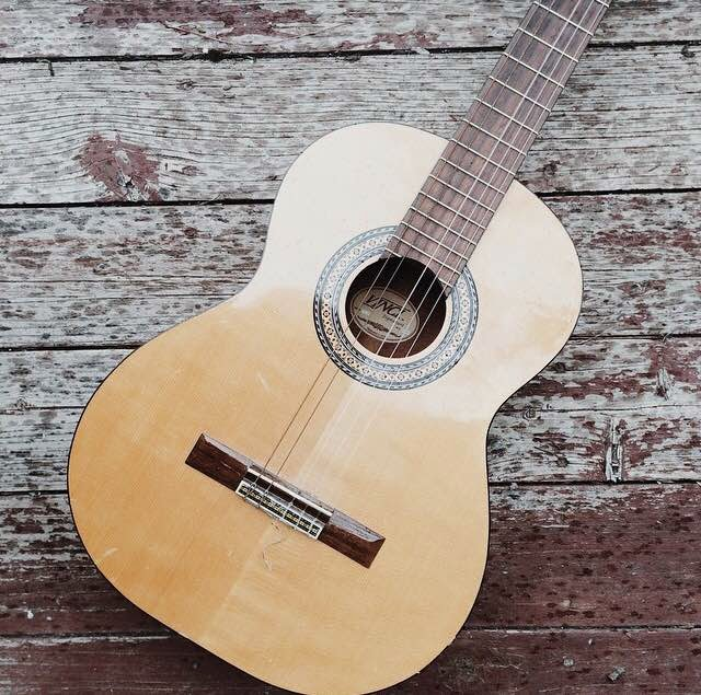 old-guitar-photo