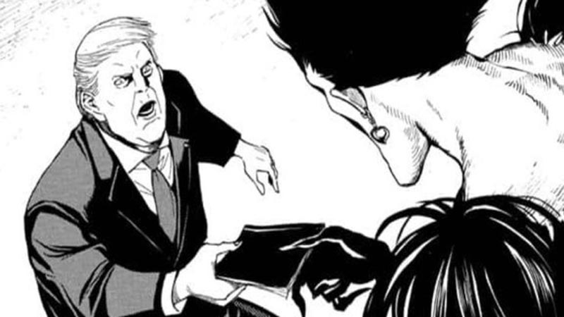 presiden amerika anime manga death note