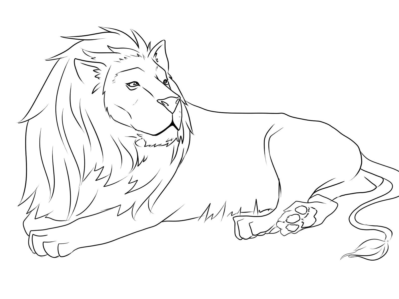 Best HD Lion King Lioness Coloring Pages Images