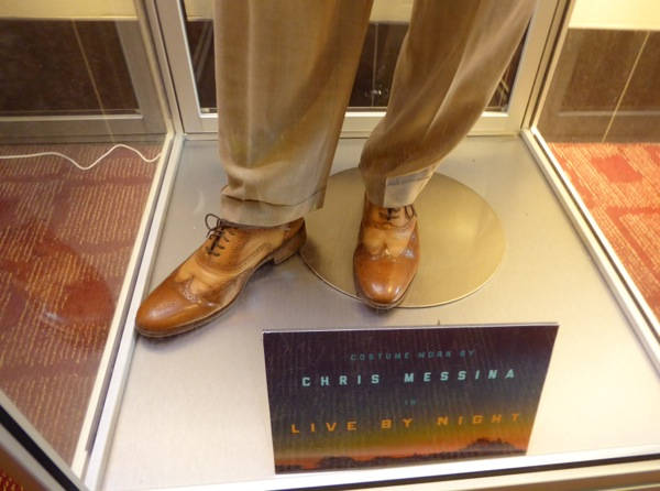 Chris Messina Live by Night costume shoes