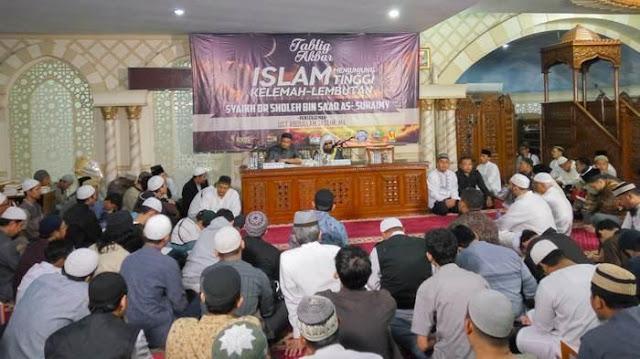 Masjid Di Blok M Square Kedatangan Syaikh Dari Madinah, Ini Yang Disampaikannya