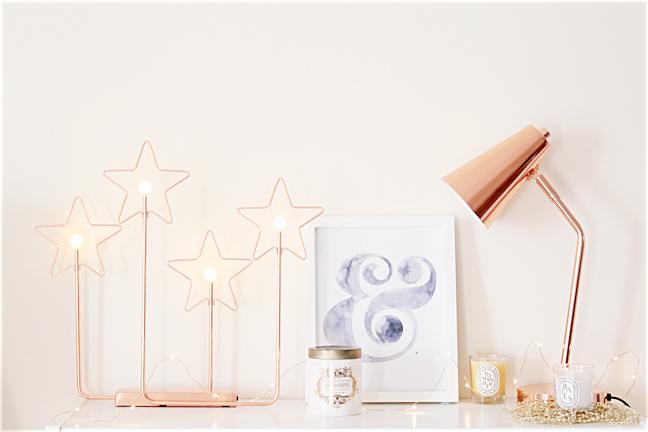 copper lamp