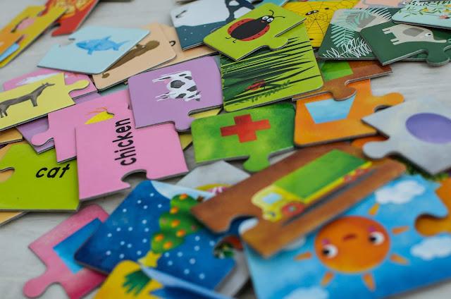 Pierwsze puzzle i układanki malucha (1-3 lat)